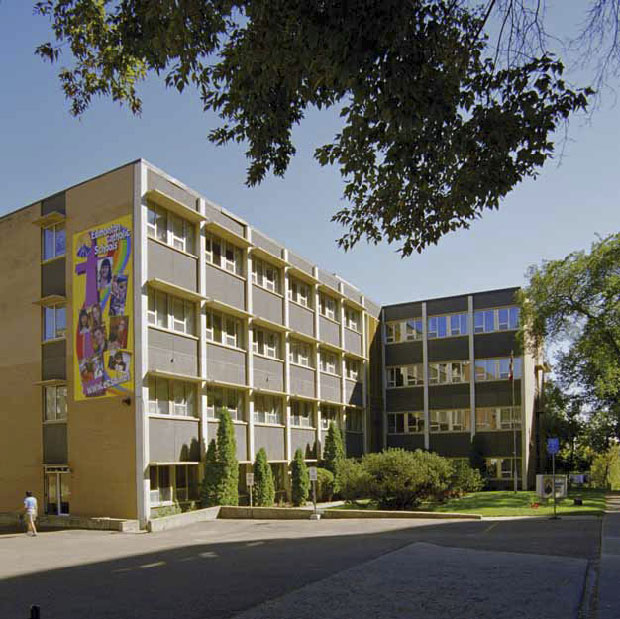 Edmonton Separate School Board Building, James Dow