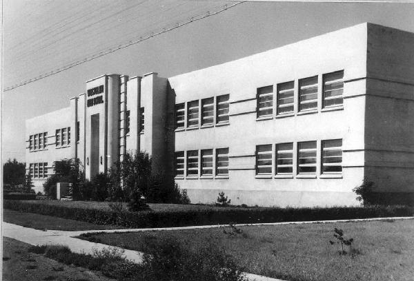 Westglen School, 1945. Edmonton Archives EA-38-5