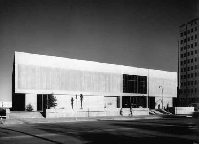 Edmonton Art Gallery by Bittorf Wensley Architects, 1969 (John Fulker)