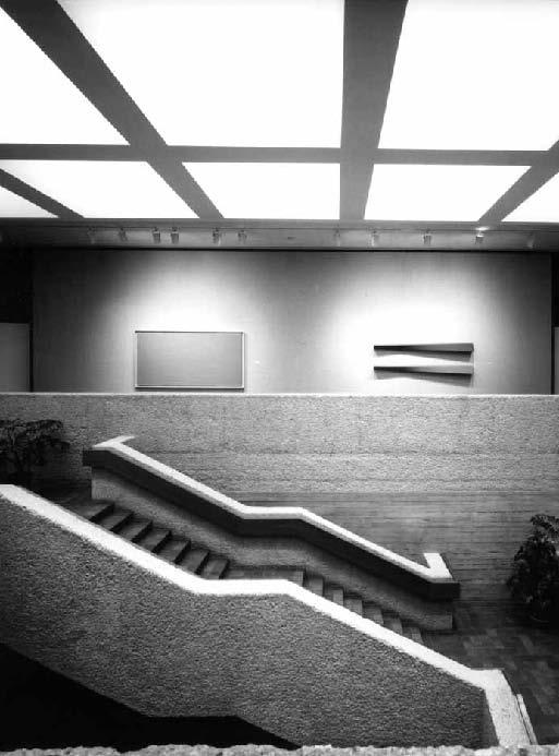 Edmonton Art Gallery Interior, photo by John Fulker.