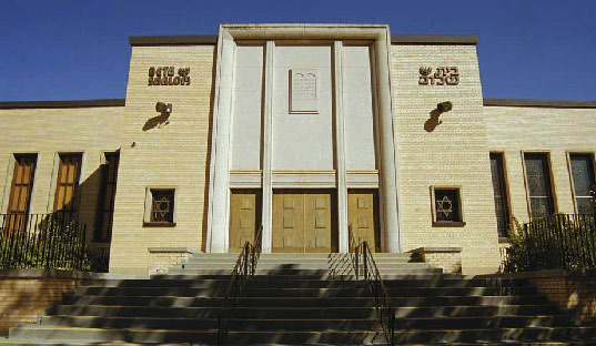 Beth Shalom Synagogue, Edmonton. Photo by James Dow.