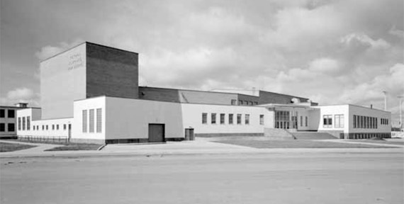 Victoria Composite High School 1949-1951 (Provincial Archives of Alberta WS4.2)